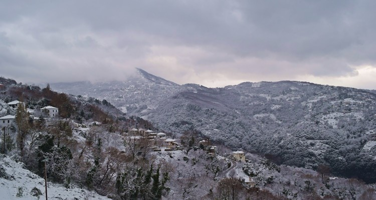 winter pelion - luxury hotel